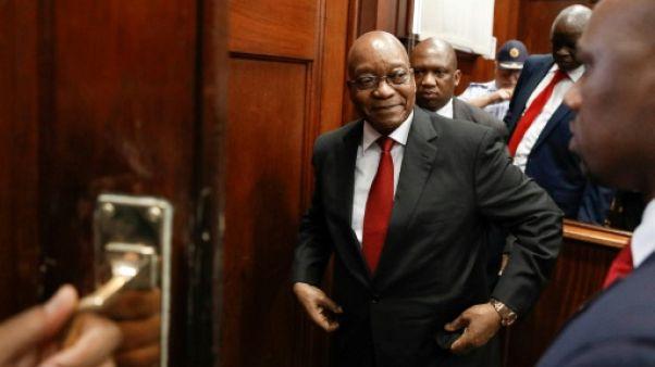 Afrique du Sud: le procès pour corruption de l'ex-président Zuma renvoyé en juin