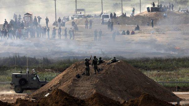 عدد القتلى الفلسطينيين يصل إلى 20 بعد وفاة مصاب في غزة