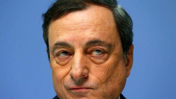 ECB's Draghi sees small effect of trade tariffs, fears retaliation