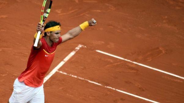 Coupe Davis: Nadal égalise à 1-1 en battant Kohlschreiber