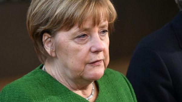 Allemagne: l'immigration met à mal la fragile coalition de Merkel