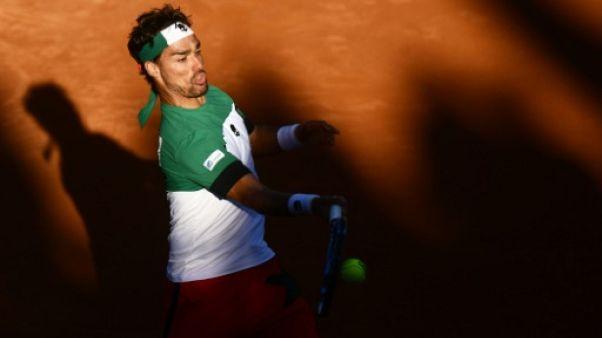 Coupe Davis: Italie-France, Fognini jouera aussi le double