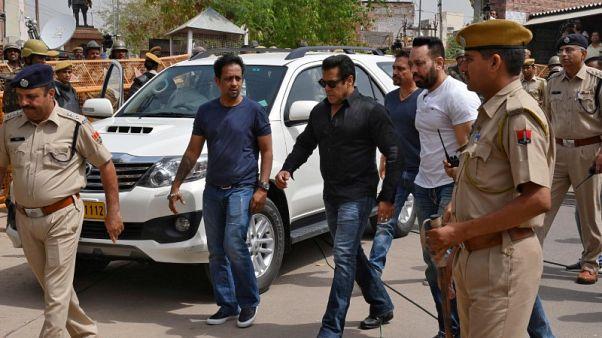 إفراج بكفالة عن النجم الهندي سلمان خان بعد يومين حبس بتهمة الصيد غير المشروع
