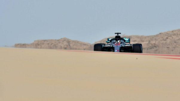 """GP de Bahreïn: le """"bouton magique"""", arme secrète de Mercedes en qualifications"""