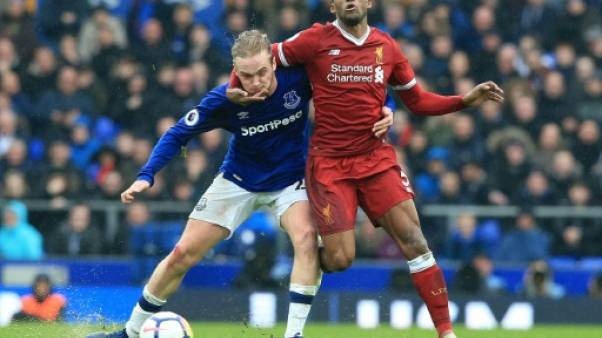 Angleterre: après l'exploit, Liverpool accroche le nul contre Everton
