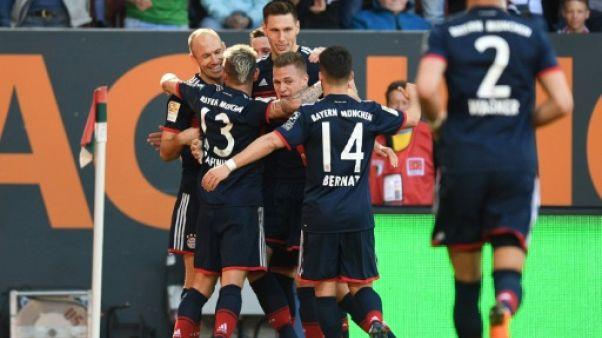 Allemagne: Munich champion pour la 6e fois consécutive