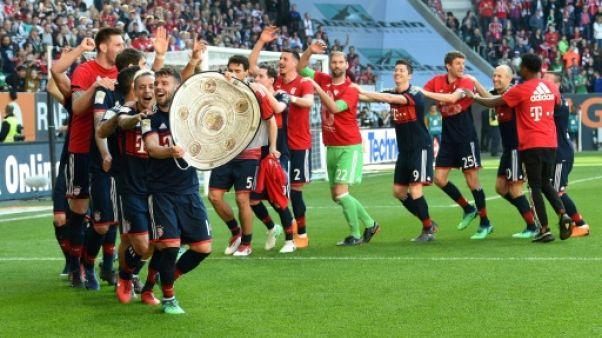 Allemagne: six titres à la suite pour le Bayern !