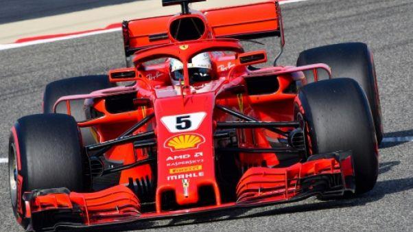 GP de Bahreïn: Vettel en pole, Hamilton 9e sur la grille