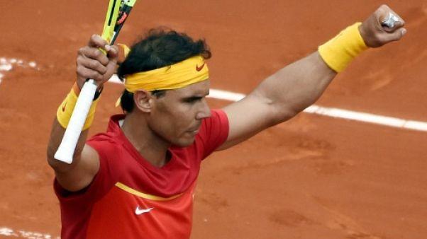 Coupe Davis: duel au sommet entre Nadal et Zverev