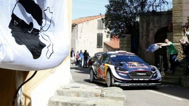 Tour de Corse: Ogier (M-Sport Ford) augmente son avance en tête