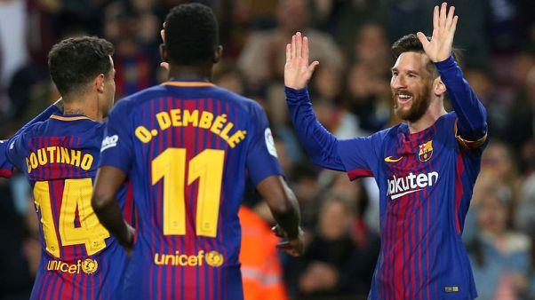 برشلونة يعادل رقما قياسيا بخوض 38 مباراة دون هزيمة في الدوري الاسباني