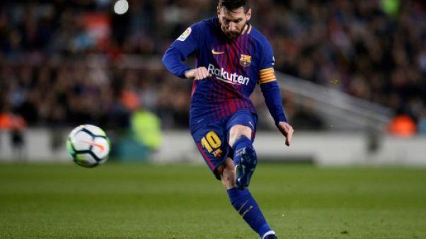 Espagne : Messi et le Barça invincibles, record de Liga égalé