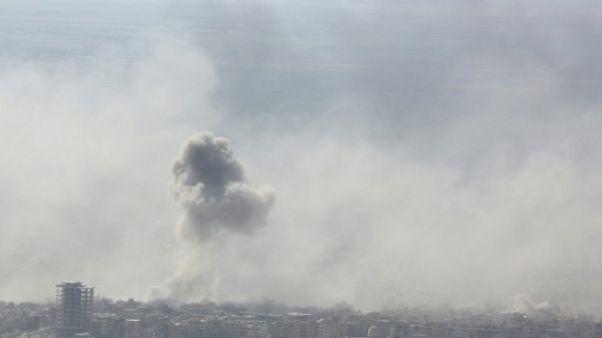 Syrie: frappes aériennes meurtrières près de Damas
