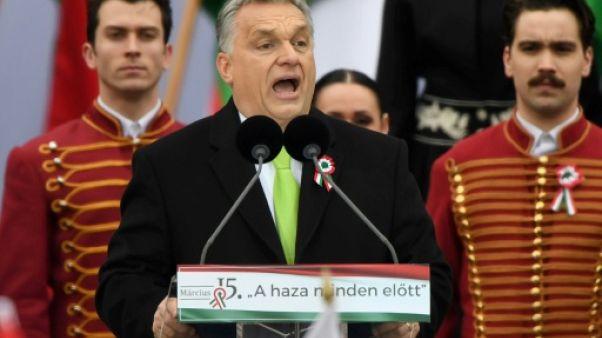 """La Hongrie, pionnière du front """"illibéral"""" en Europe"""