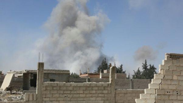 Washington dénonce une possible attaque chimique en Syrie