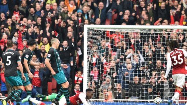 Angleterre: Arsenal l'emporte à l'arraché sur Southampton