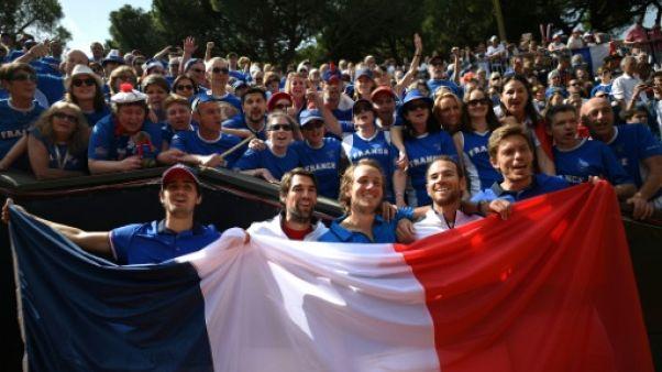 """Coupe Davis: une victoire encourageante sans les """"néo-Mousquetaires"""""""