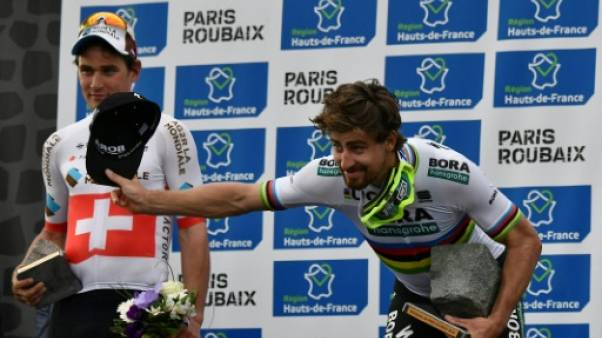 Paris-Roubaix: Sagan, la rock-star, s'impose en champion du monde