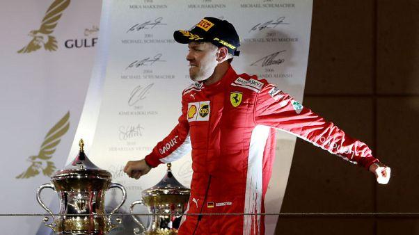 فيتل يفوز بسباق البحرين المثير مع فيراري