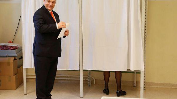 إقبال كبير على الانتخابات في المجر مع محاولة أوربان البقاء في السلطة