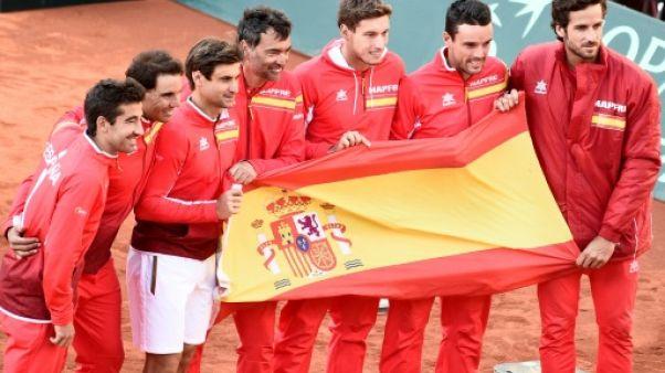 Coupe Davis: Nadal et Ferrer envoient l'Espagne en 1/2 en France
