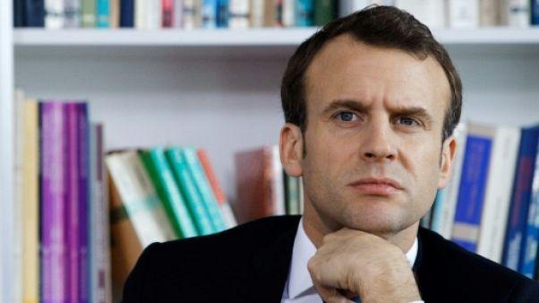 """Syrie: Macron """"condamne les attaques chimiques"""" et se coordonnera avec Trump"""