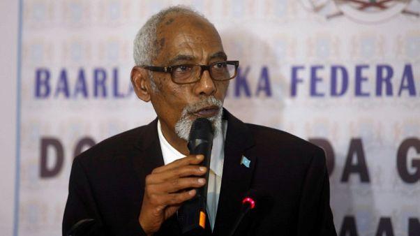 استقالة رئيس البرلمان الصومالي