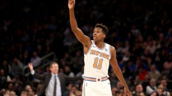 NBA: Ntilikina (New York Knicks) a bien appris sa leçon