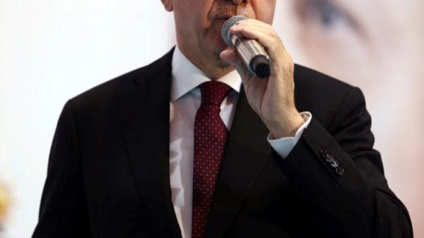 """الليرة تهبط لمستوى قياسي وإردوغان يعد """"بإنقاذ"""" المستثمرين"""