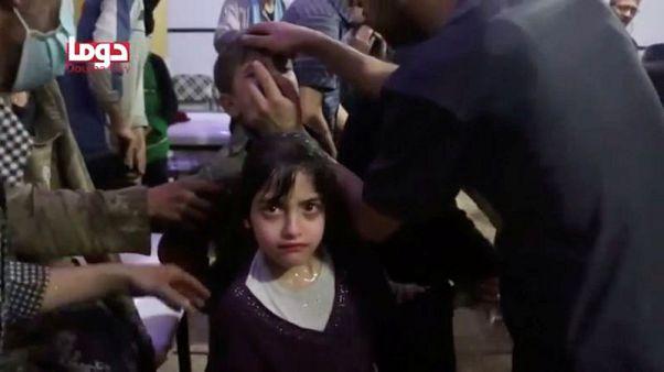 الخارجية الأمريكية: أعراض ضحايا دوما بسوريا تتسق مع التعرض لغاز أعصاب