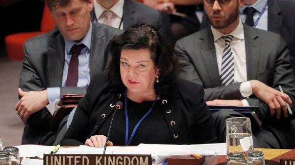 مبعوثة بريطانيا بالأمم المتحدة تقول إنها تفضل إجراء تحقيق ملائم في الهجوم بسوريا