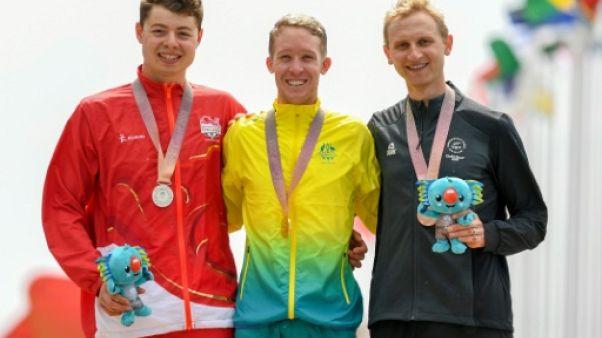 Jeux du Commonwealth: le Néo-Zélandais Bond passe de l'aviron au cyclisme avec bonheur