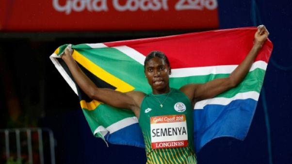 Jeux du Commonwealth: la Sud-Africaine Semenya survole le 1500 m