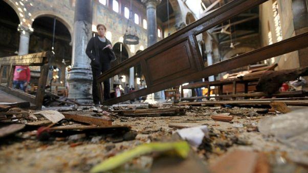 محكمة عسكرية مصرية تحيل 36 للمفتي تمهيدا للحكم بإعدامهم في قضية تفجير كنائس