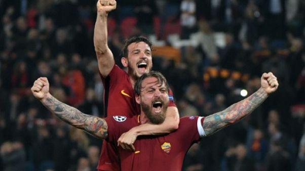 "Ligue des champions: la presse sportive mondiale célèbre la ""Romantada"" de la Roma"