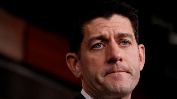 رئيس مجلس النواب الأمريكي رايان يتقاعد في يناير