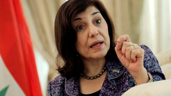 مستشارة للأسد تقول سوريا تتشاور مع حلفائها بشأن التهديدات الأمريكية