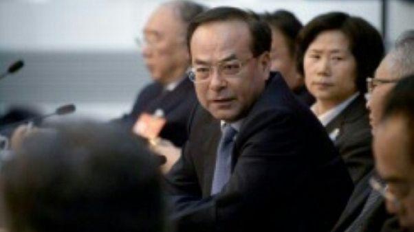 Chine: un ex-cacique du Parti plaide coupable de corruption