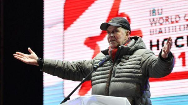 Biathlon: le président de l'IBU a caché 65 cas de dopage russes