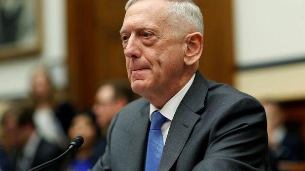 ماتيس: أعتقد أن هجوما كيماويا وقع في سوريا ونبحث عن دليل