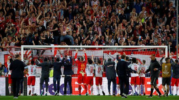 سالزبورج يفاجئ لاتسيو وتأهل مرسيليا وارسنال واتليتيكو لقبل نهائي الدوري الاوروبي