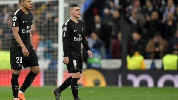 PSG: Verratti et Mbappé absents à l'entraînement et incertains contre Monaco