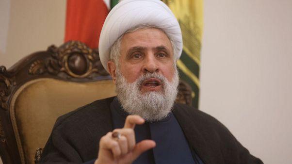 """حزب الله يستبعد """"حربا واسعة"""" بسبب سوريا ويحذر من قتال بين إيران وإسرائيل"""