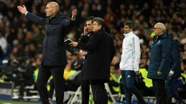 Zidane réagit aux critiques visant le Real après sa victoire