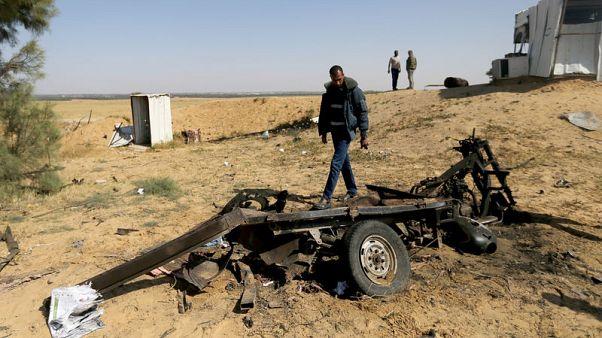 مقتل 4 نشطاء فلسطينيين في انفجار بقطاع غزة