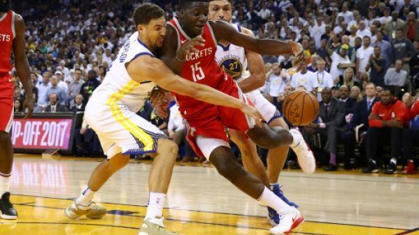 NBA: Golden State dans l'ombre de Houston en play-offs