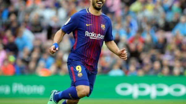 Espagne: le Barça soigne sa gueule de bois et bat un nouveau record