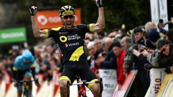 Tour du Finistère: victoire de Hivert devant Bardet