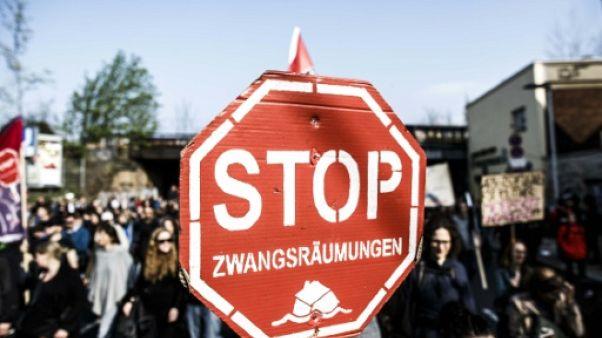 """Allemagne: manifestation à Berlin contre """"la folie des loyers"""""""
