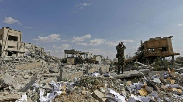Syrie: des employés d'un centre bombardé assurent qu'ils ne produisaient pas d'armes chimiques